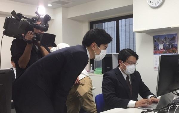 日本テレビ『ZIP!』の放送内容でREDS菅野が当社の渋谷スタジオで取材協力しました。