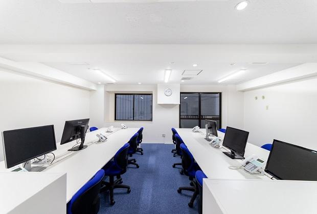 ▲渋谷営業所のオフィス内。渋谷勤務の場合はこちらです。