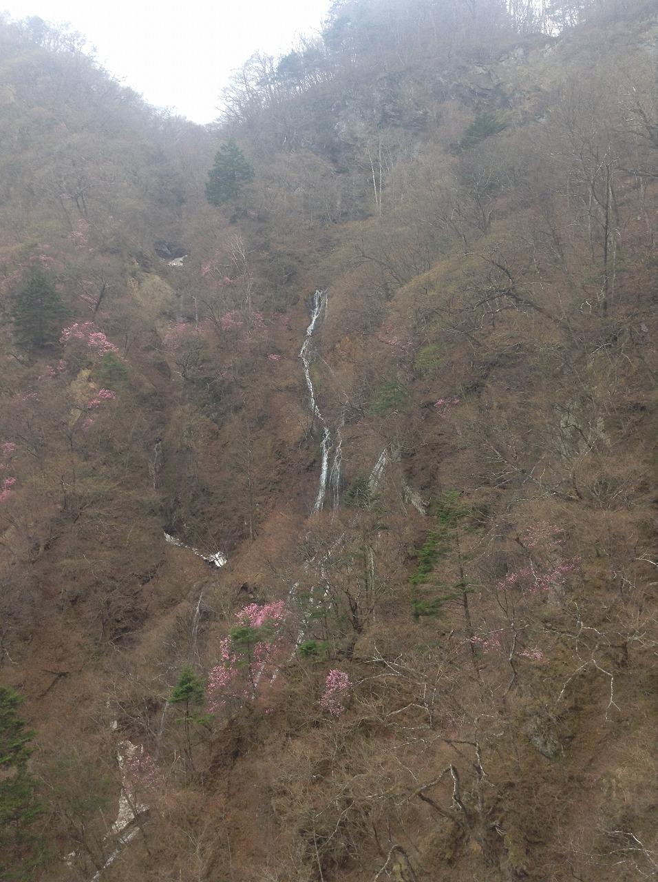 華厳のそばの滝