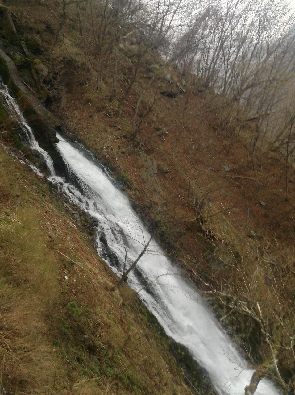 華厳の滝のそばの滝2
