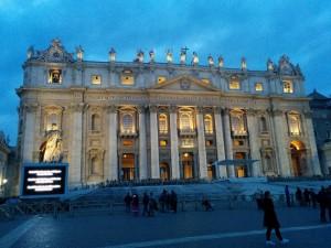 サンピエトロ大聖堂外観