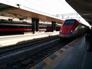 ナポリ行電車