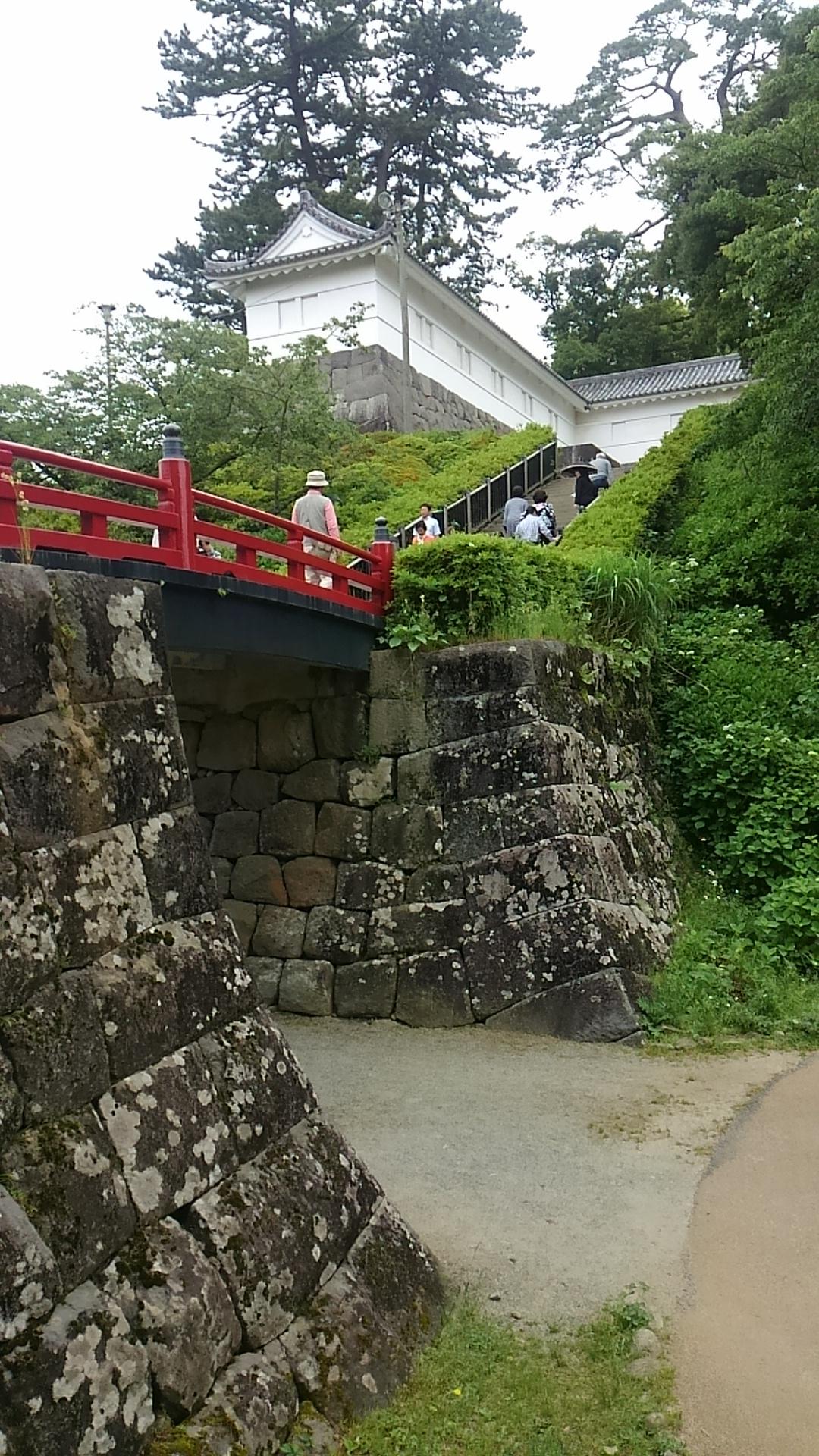 小田原城の橋
