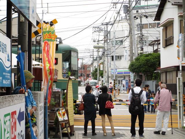 江ノ電踏切2