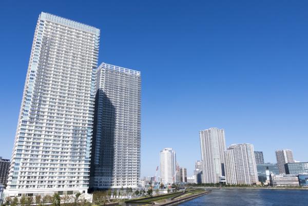 江東区の有料マンション,シティタワーズ豊洲シンボル