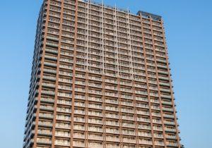 品川の高層住宅
