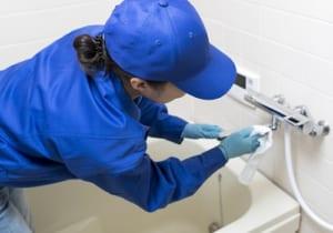 ハウスクリーニング 浴室の掃除
