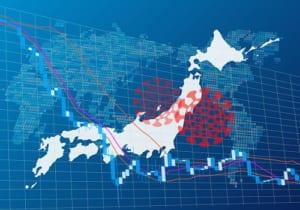 日本経済に影響を与えるコロナウイルス