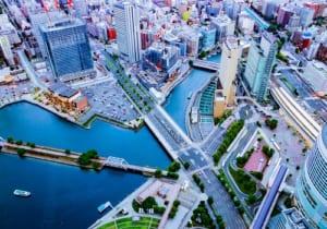 みなとみらい・横浜 展望台からの景色