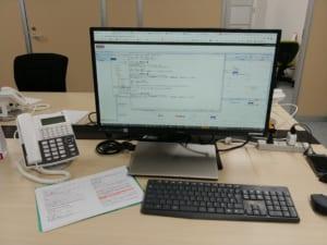 PCと書類とキーボード