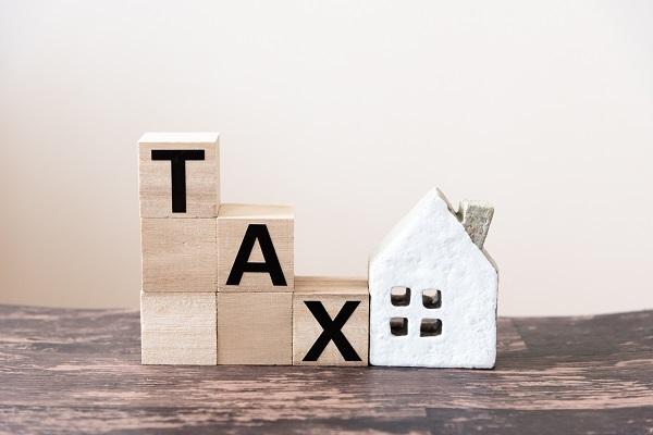 住宅 税金 減少イメージ
