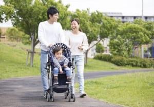 家族で育児